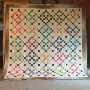 Ombre quilt 2  Shine by Melissa Cory