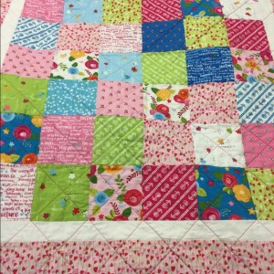 Quilt for my first great grandbaby
