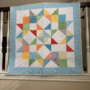 Another Set of Twin Quilts ~ Boy