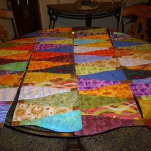 Vino Row table runners