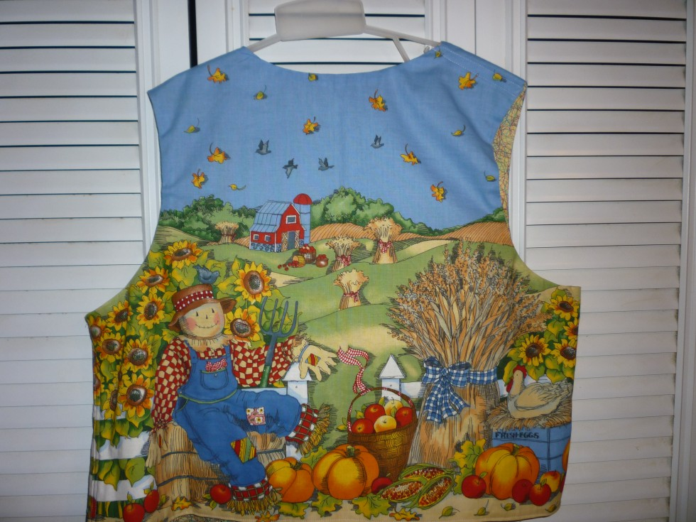 Halloween or Harvest time Vest