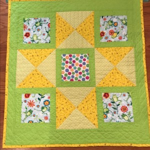 Frogs & Bees Baby Quilt