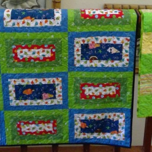 Hand binding guild community quilts