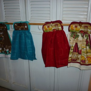 Hanging Kitchen Hand Towels