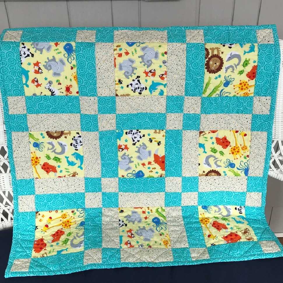LIttle Friends Baby Quilt