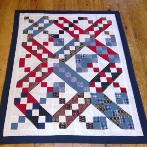 JACOB'S LADDER MEMORY QUILT (1 OF 5)