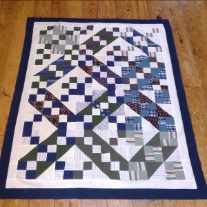JACOB'S LADDER MEMORY QUILT (3 of 5)