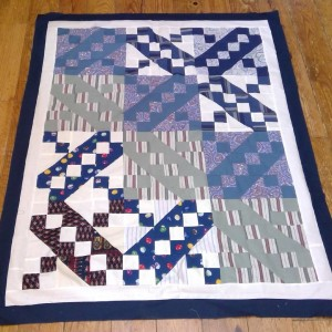 Jacob's Ladder memory quilt (5 of 5)