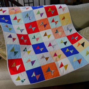 Bow Tie quilt for Carla