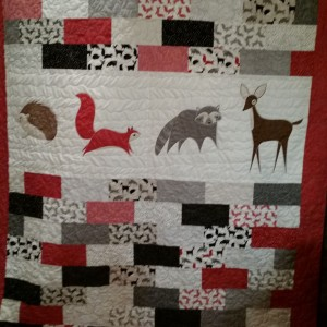 Castle Wall quilt