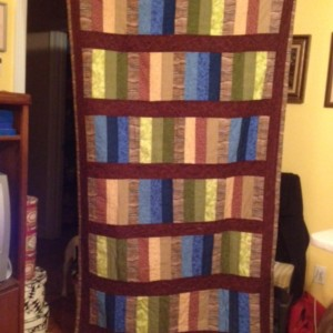 Gregory's lap/throw quilt