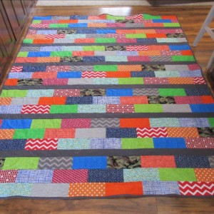 queen bed quilt for son