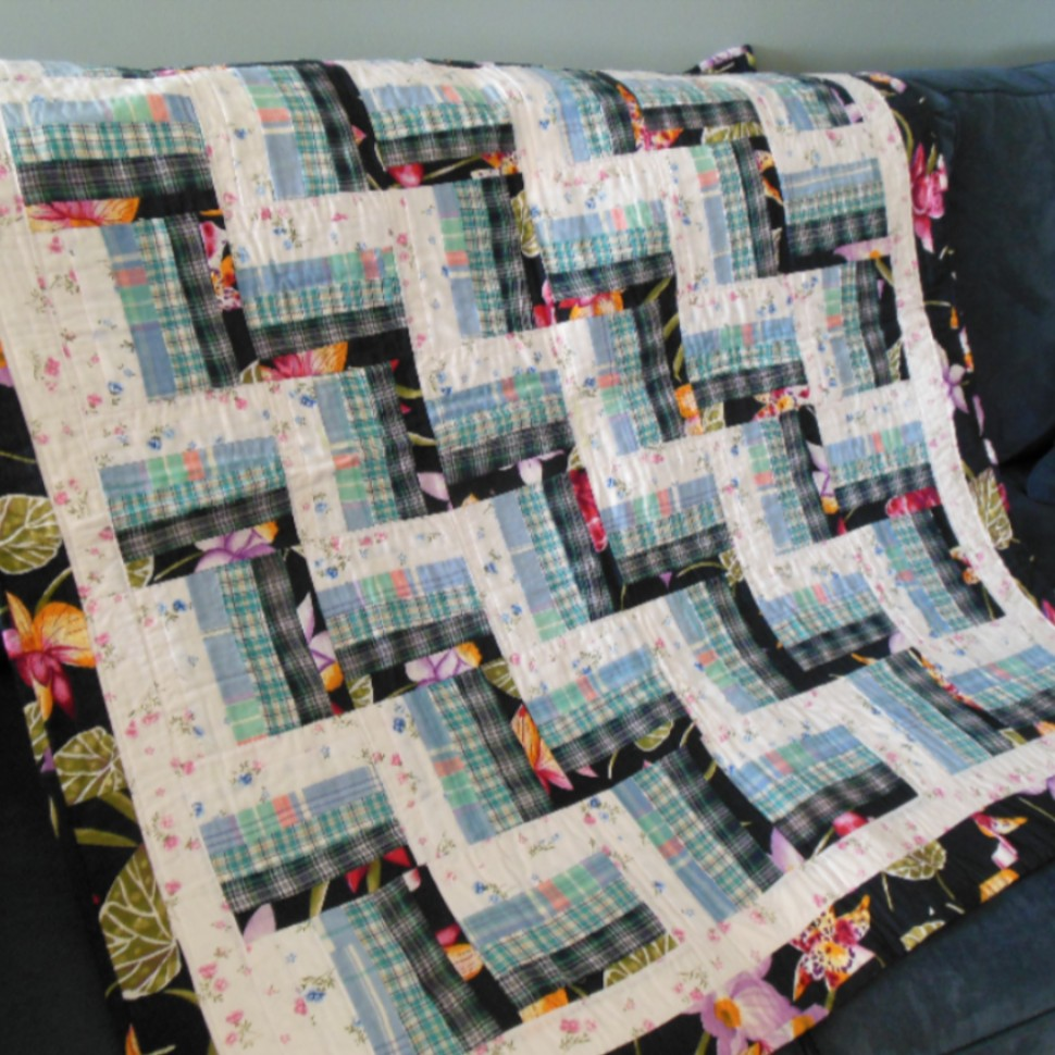 Mom and Dad Quilt