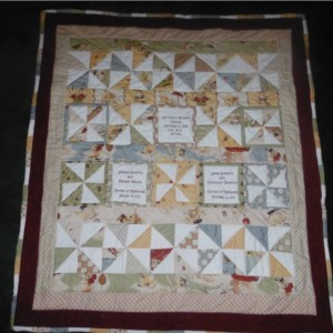 Birth Announcement Quilt