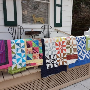 My quilts in 8 months