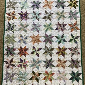 Lemon Star Stash Quilt