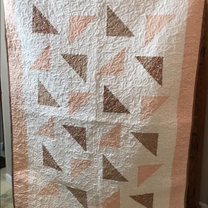 Falling Triangles Quilt