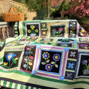 Day and Night in a Stitcher's Garden