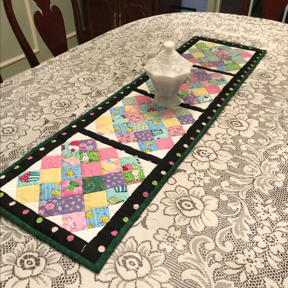 Bunnies and Leprechauns! Holiday Table Runners