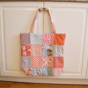 Little Girl's Quilted Tote