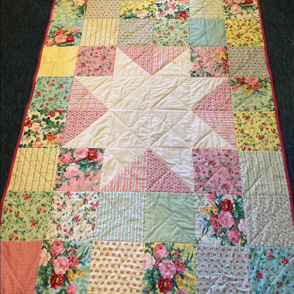 SIL Amy's Grandma Quilt!