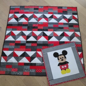 Mickey Mouse Pillow cover and quilt
