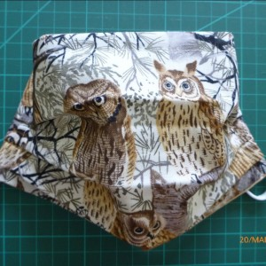 face mask owls