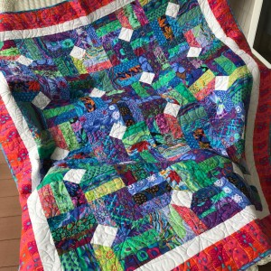 Piece Out in Kaffe Fassett fabrics