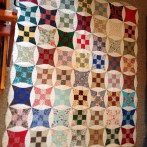 1962 Revisited (My First Quilt, Reworked)