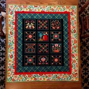Pieceful Gatherings Panel Quilt