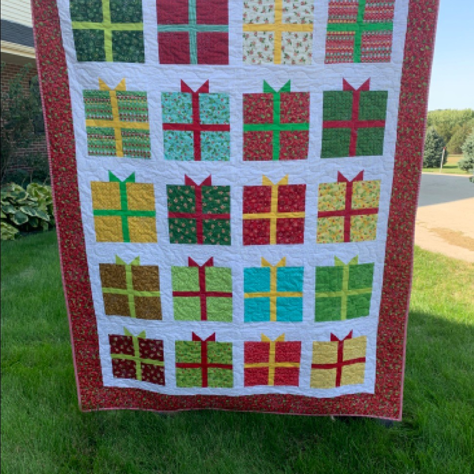 Christmas Gift Quilt, 2 of 2