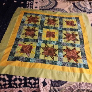 Sunflower Ancestor Quilt