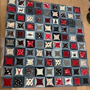 Wild at Heart Circle Magic Quilt