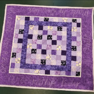 Granddaughters Baby Doll Quilt