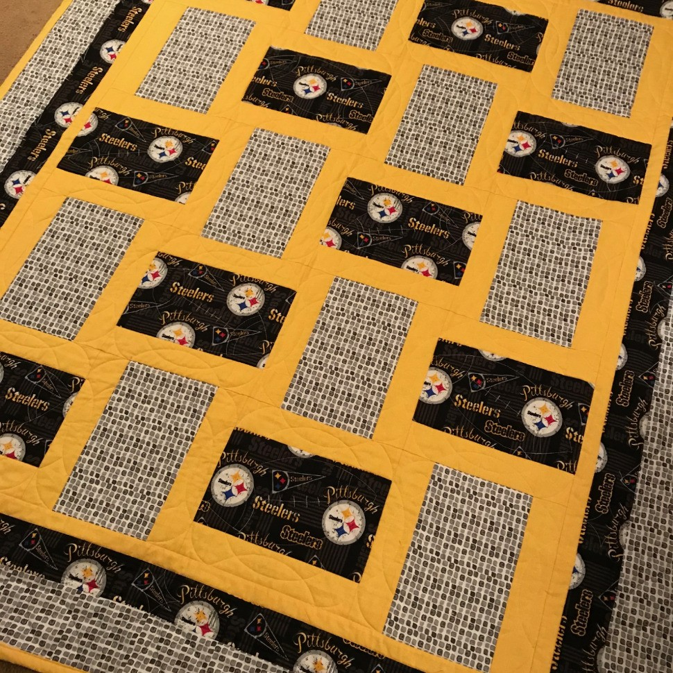 Pittsburgh Steelers Quilt