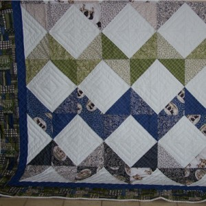 Sam's Chevron Quilt