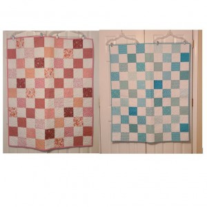 Quilts for twin girls