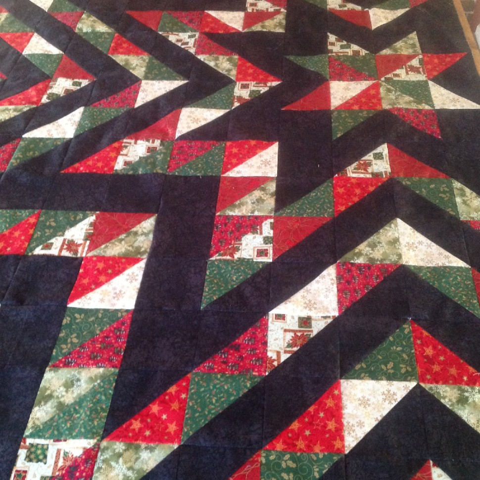 My Christmas quilt