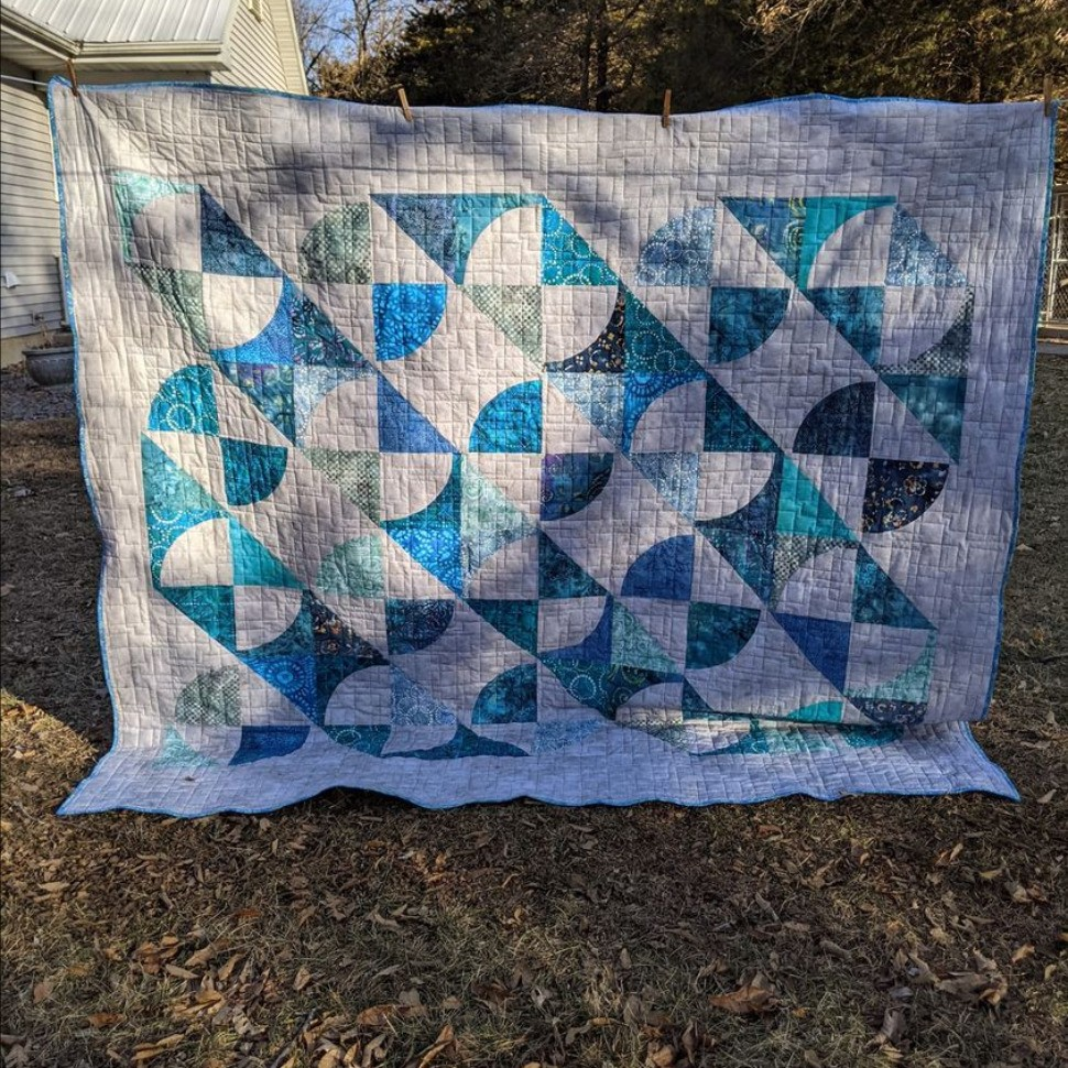 Another Waves quilt