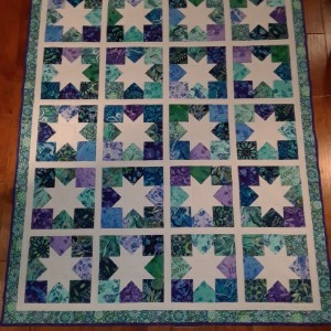 Charming Star Quilt.
