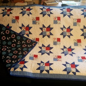 Anchor 4 Star Patch Quilt