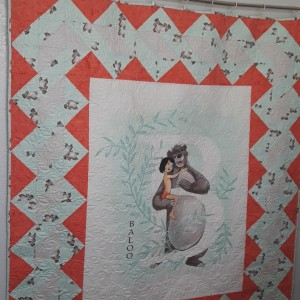 Jungle Book Baloo Quilt