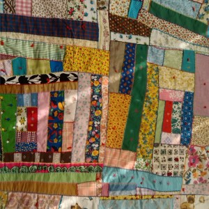 My grandmother's crazy patchwork