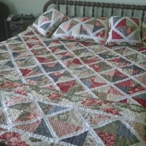 Lattice Quilt (Finished!)