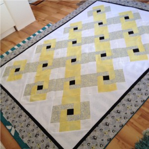 Love links quilt kit