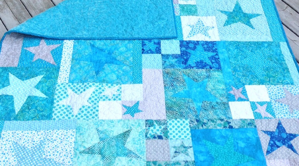 Whacky Star Quilt