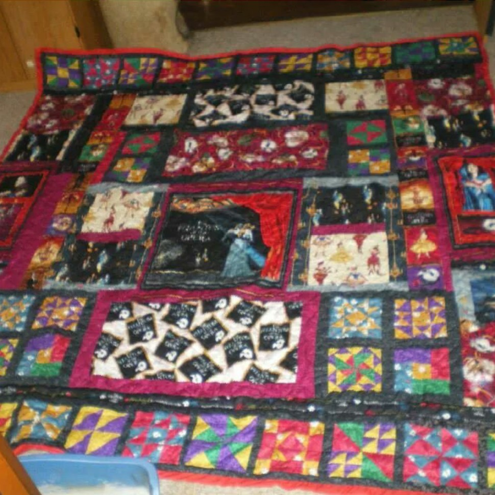 Phantom of the Opera Quilt