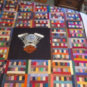 Dad's Harley Quilt