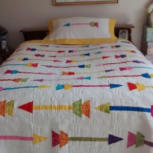 Mom's Arrow Quilt