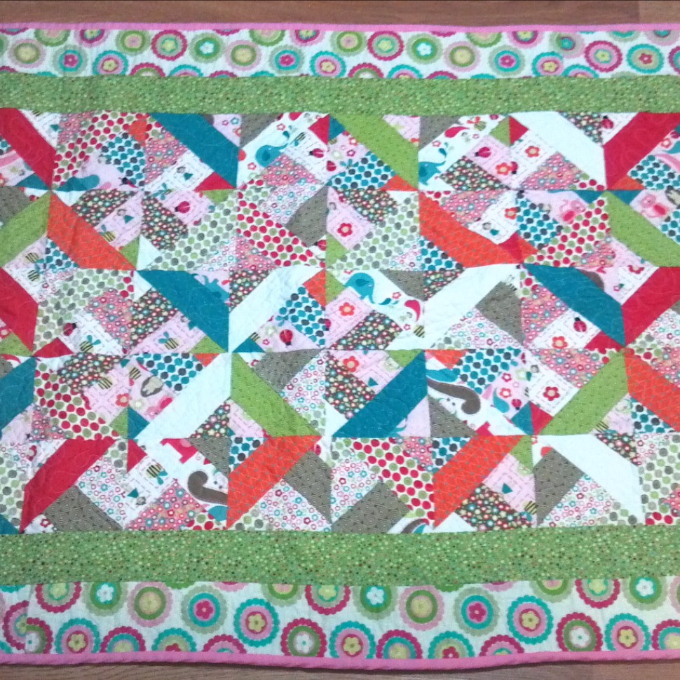 Baby Quilt | Quiltsby.me : three dudes jelly roll quilt - Adamdwight.com